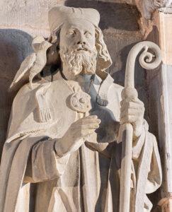 Statue of St David