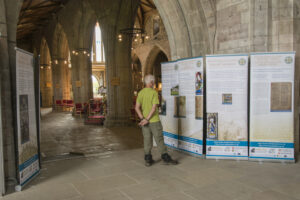 Exhibition in St Asaph Cathedral